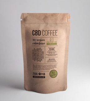 CBD DECAF Coffee Colombian 250g