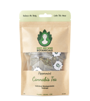 CBD Tea-Peppermint (CBD Infused Tea)