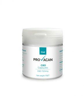 Provacan 720 mg CBD Capsules