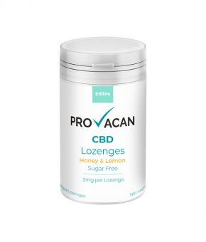 Provacan Honey & Lemon CBD Lozenges