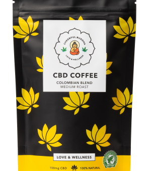 Cheerful Buddha CBD Infused Ground Coffee 100g