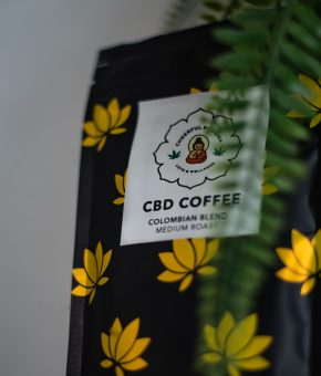 Cheerful Buddha CBD Infused Ground Coffee 200g