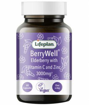 Lifeplan BerryWell Elderberry 60 Capsules