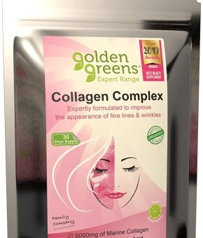 Golden Greens Collagen Complex 30 Day 300g