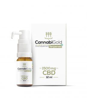 CannabiGold CBD Oil Terpenes+ 1500mg