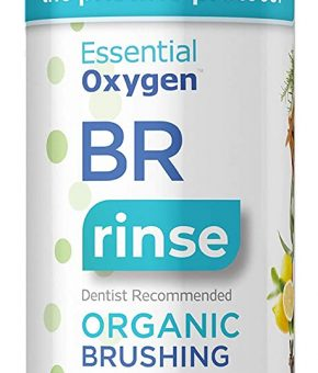 Essential Oxygen Organic Brushing Rinse Mouthwash Cinnamint